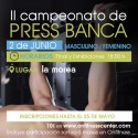 Campeonato press banca masculino y femenino