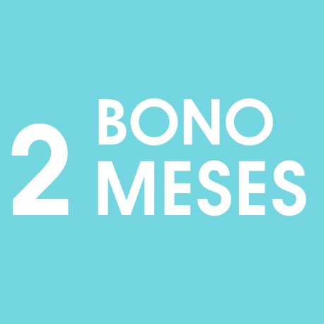 Bono 2 meses - Entrada gimnasio