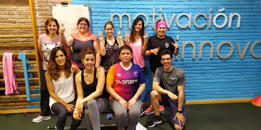 Éxito de Let's be active en Onfitness